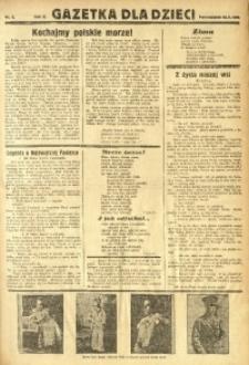 Gazetka dla Dzieci, 1936, nr 5