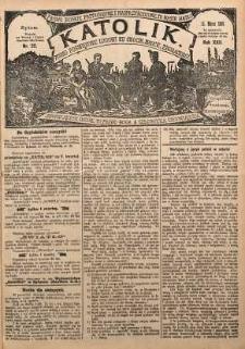 Katolik, 1889, R. 22, nr 22
