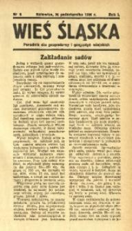 Wieś Śląska, 1936, R. 1, nr 8