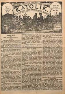 Katolik, 1889, R. 22, nr 41