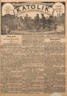 Katolik, 1889, R. 22, nr 44