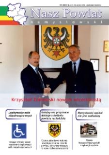 Nasz Powiat Namysłowski : bezpłatna gazeta samorządowa powiatu namysłowskiego 2016, nr 5 (44).