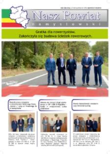 Nasz Powiat Namysłowski : bezpłatna gazeta samorządowa powiatu namysłowskiego 2018, nr 8 (65).