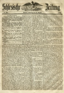 Schlesische Zeitung, 1850, No. 208