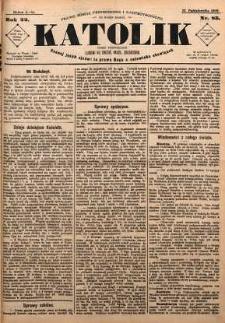 Katolik, 1889, R. 22, nr 85