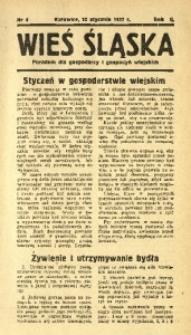 Wieś Śląska, 1937, R. 2, nr 4