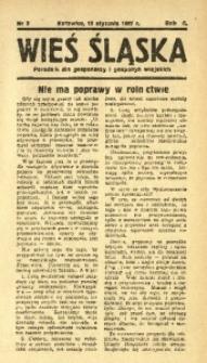 Wieś Śląska, 1937, R. 2, nr 5