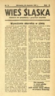 Wieś Śląska, 1937, R. 2, nr 12
