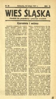 Wieś Śląska, 1937, R. 2, nr 20