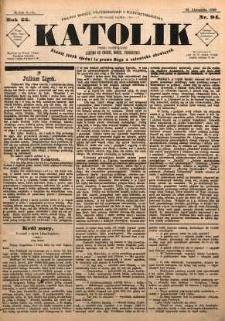 Katolik, 1889, R. 22, nr 94