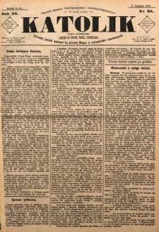 Katolik, 1889, R. 22, nr 98