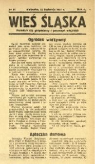 Wieś Śląska, 1937, R. 2, nr 61