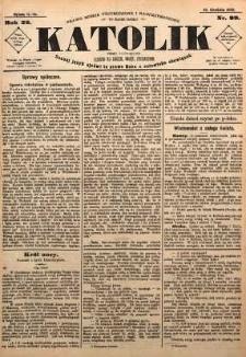 Katolik, 1889, R. 22, nr 99