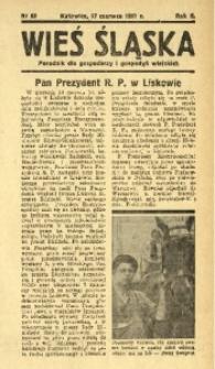 Wieś Śląska, 1937, R. 2, nr 88