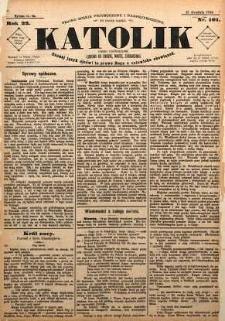 Katolik, 1889, R. 22, nr 101
