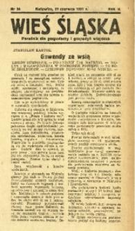 Wieś Śląska, 1937, R. 2, nr 94