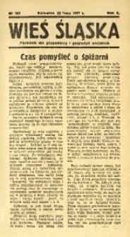 Wieś Śląska, 1937, R. 2, nr 107