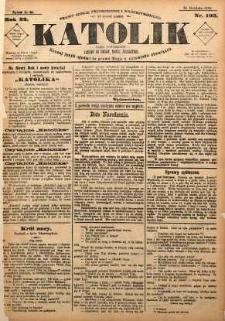 Katolik, 1889, R. 22, nr 103