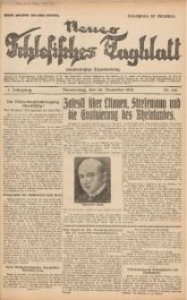 Neues Schlesisches Tagblatt, 1928, Jg. 1, Nr. 142