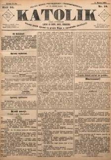 Katolik, 1890, R. 23, nr 18