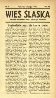 Wieś Śląska, 1938, R. 3, nr 17