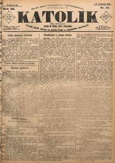 Katolik, 1890, R. 23, nr 31