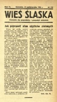Wieś Śląska, 1938, R. 3, nr 128