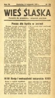 Wieś Śląska, 1938, R. 3, nr 130