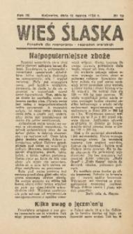 Wieś Śląska, 1939, R. 4, nr 10