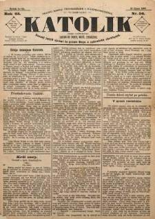 Katolik, 1890, R. 23, nr 56