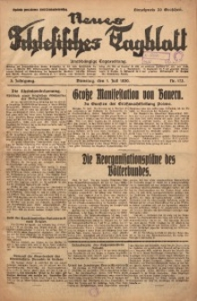 Neues Schlesisches Tagblatt, 1930, Jg. 3, Nr. 173