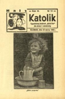 Mały Katolik, 1938, R. 4, nr 13