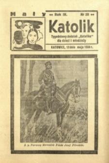 Mały Katolik, 1938, R. 4, nr 20