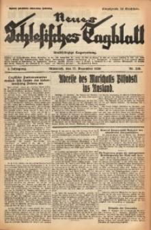Neues Schlesisches Tagblatt, 1930, Jg. 3, Nr. 339