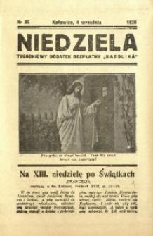 Niedziela, 1938, nr 36