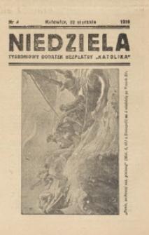 Niedziela, 1939, nr 4