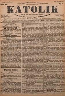 Katolik, 1894, R. 27, nr 4