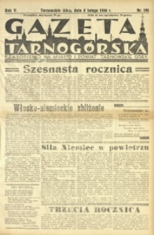 Gazeta Tarnogórska, 1936, R. 5, nr 195