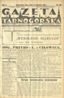 Gazeta Tarnogórska, 1936, R. 5, nr 204