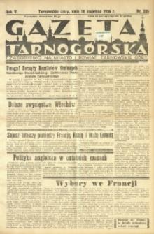 Gazeta Tarnogórska, 1936, R. 5, nr 205