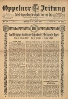 Oppelner Zeitung, 1920, Jg. 56, Nr. 230