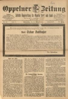 Oppelner Zeitung, 1921, Jg. 57, Nr. 61