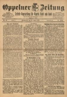 Oppelner Zeitung, 1921, Jg. 57, Nr. 81