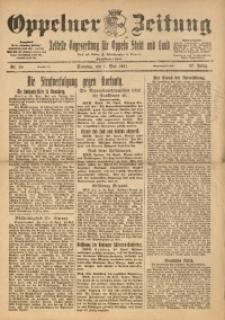 Oppelner Zeitung, 1921, Jg. 57, Nr. 88