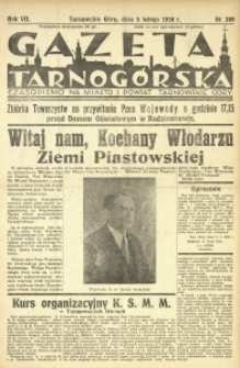 Gazeta Tarnogórska, 1938, R. 7, nr 389