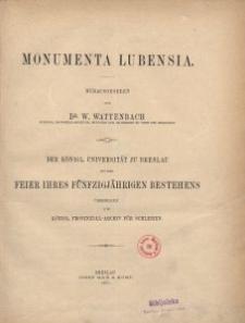 Monumenta Lubensia