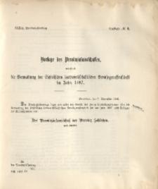 39. Provinzial-Landtag, Drucksache No. 3