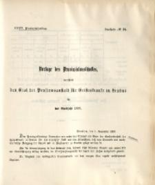 39. Provinzial-Landtag, Drucksache No. 14