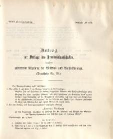 39. Provinzial-Landtag, Drucksache No. 134