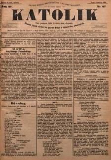 Katolik, 1894, R. 27, nr 67